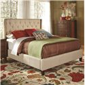 Coaster Upholstered Beds Upholstered King Bed with Tall, Tufted Headboard - Bed Shown May Not Represent Size Indicated