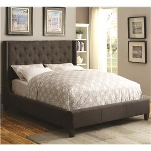 Coaster Upholstered Beds Upholstered Cal King Bed