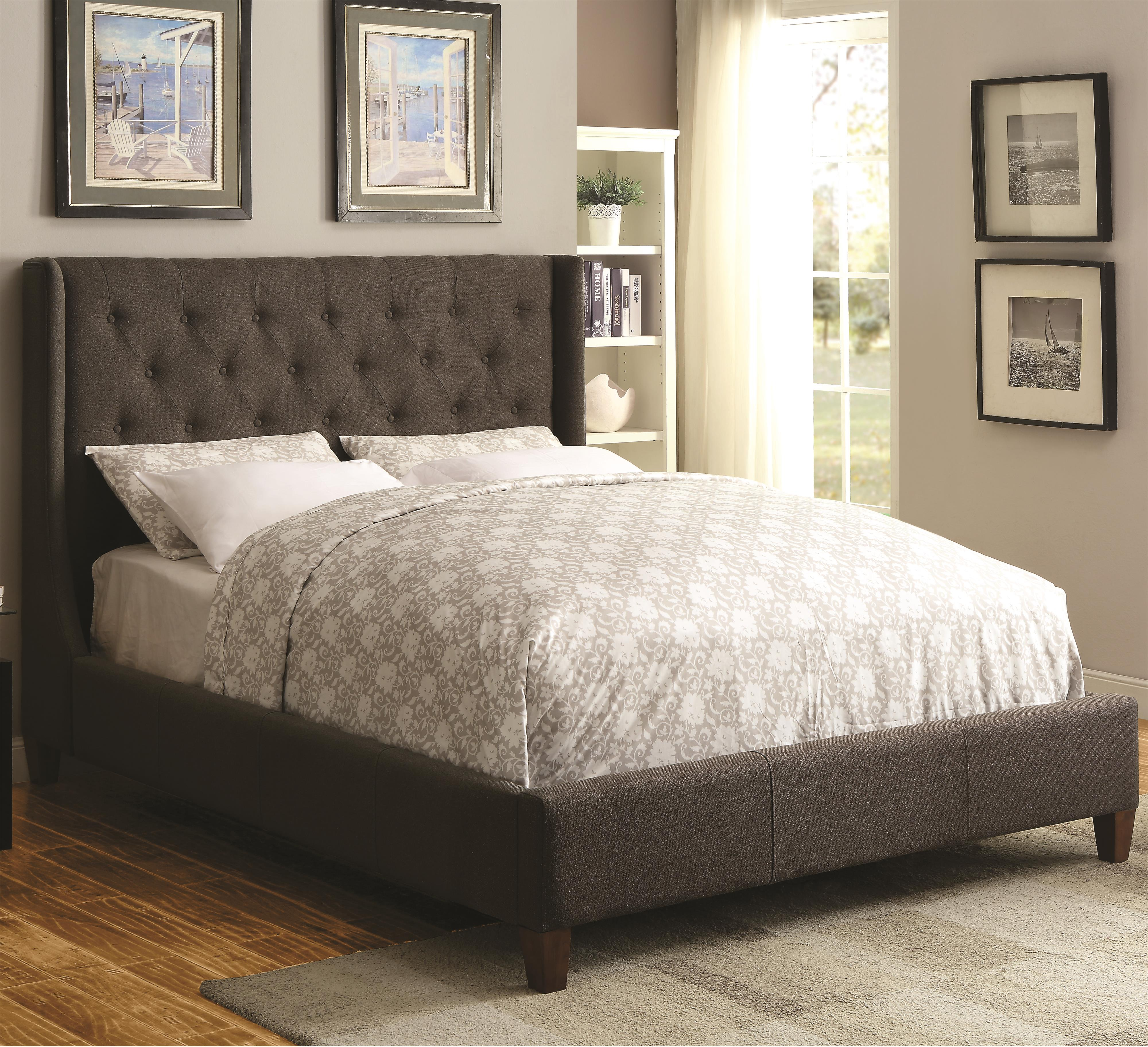Coaster Upholstered Beds Queen Upholstered Bed - Item Number: 300453Q