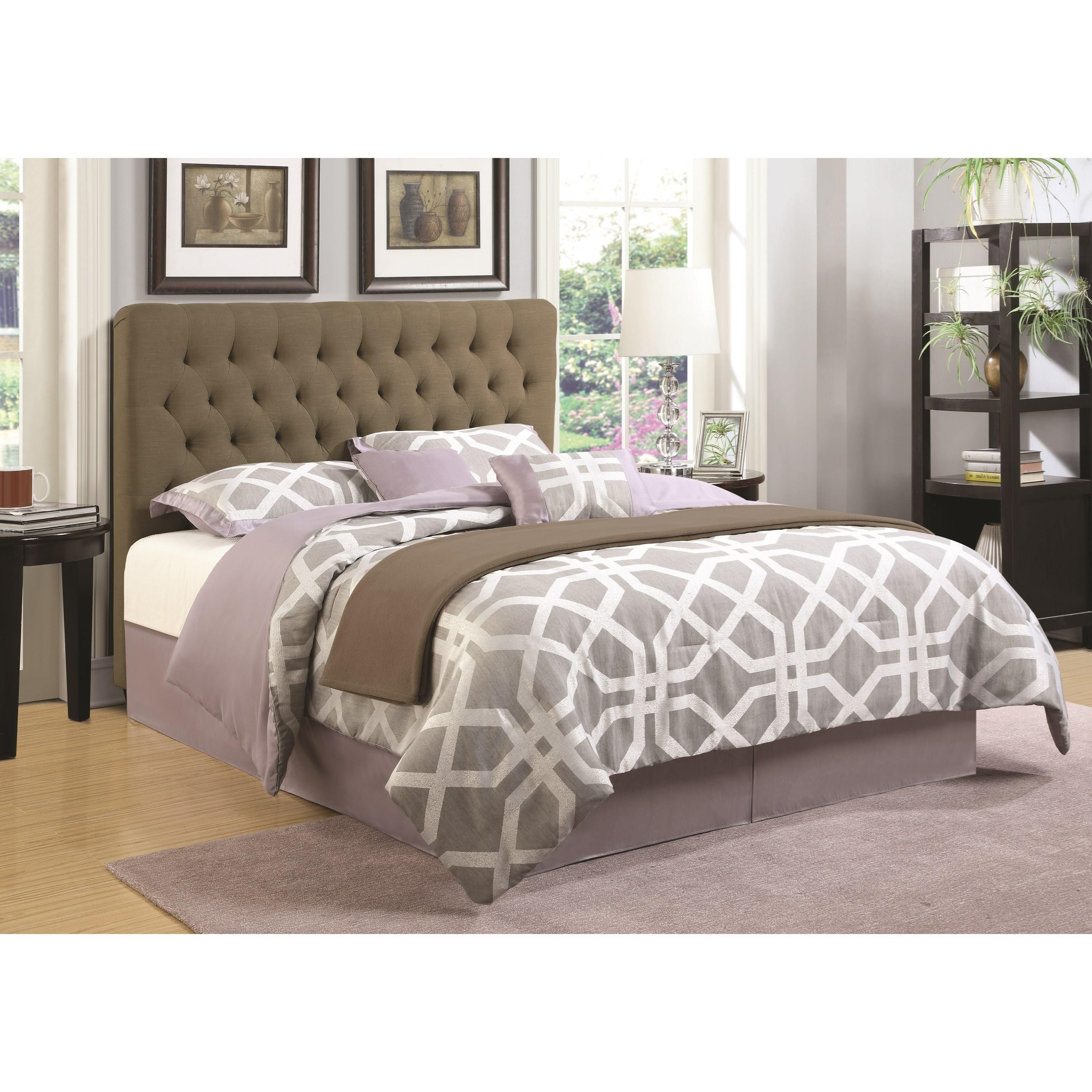 Coaster Upholstered Beds Twin Headboard - Item Number: 300528TB1
