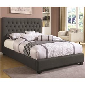 Full Chole Upholstered Bed