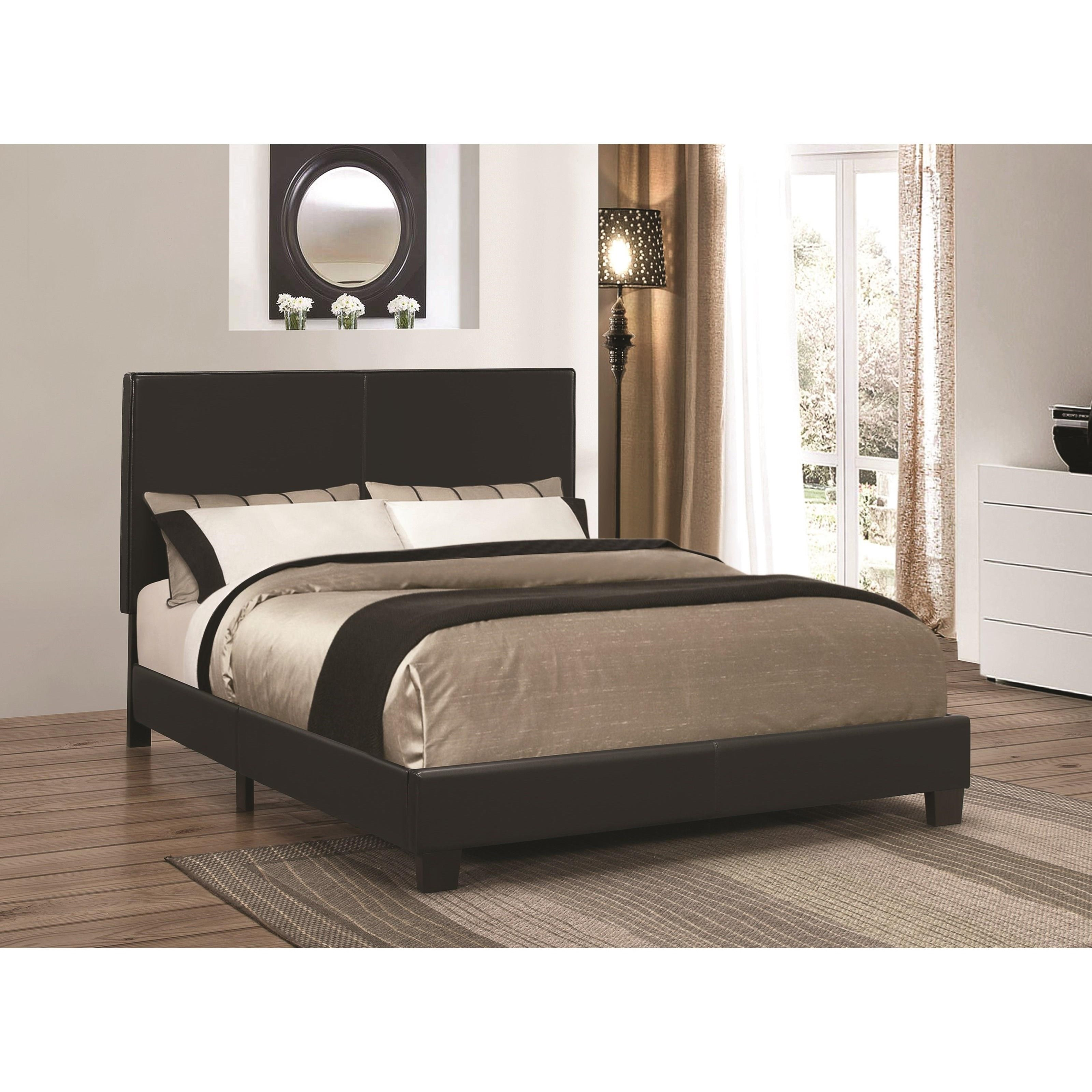 Coaster Upholstered Beds Queen Bed - Item Number: 300558Q