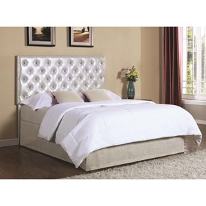 Coaster Upholstered Beds Queen/Full Headboard