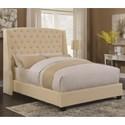 Coaster Upholstered Beds Pissarro King Bed - Item Number: 300715KE