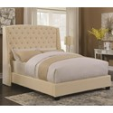 Coaster Upholstered Beds Pissarro Queen Bed - Item Number: 300715Q