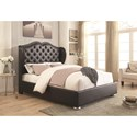 Coaster Upholstered Beds King Bed - Item Number: 302012KE