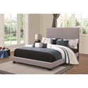 Coaster Upholstered Beds Upholstered Full Bed with Nailhead Trim