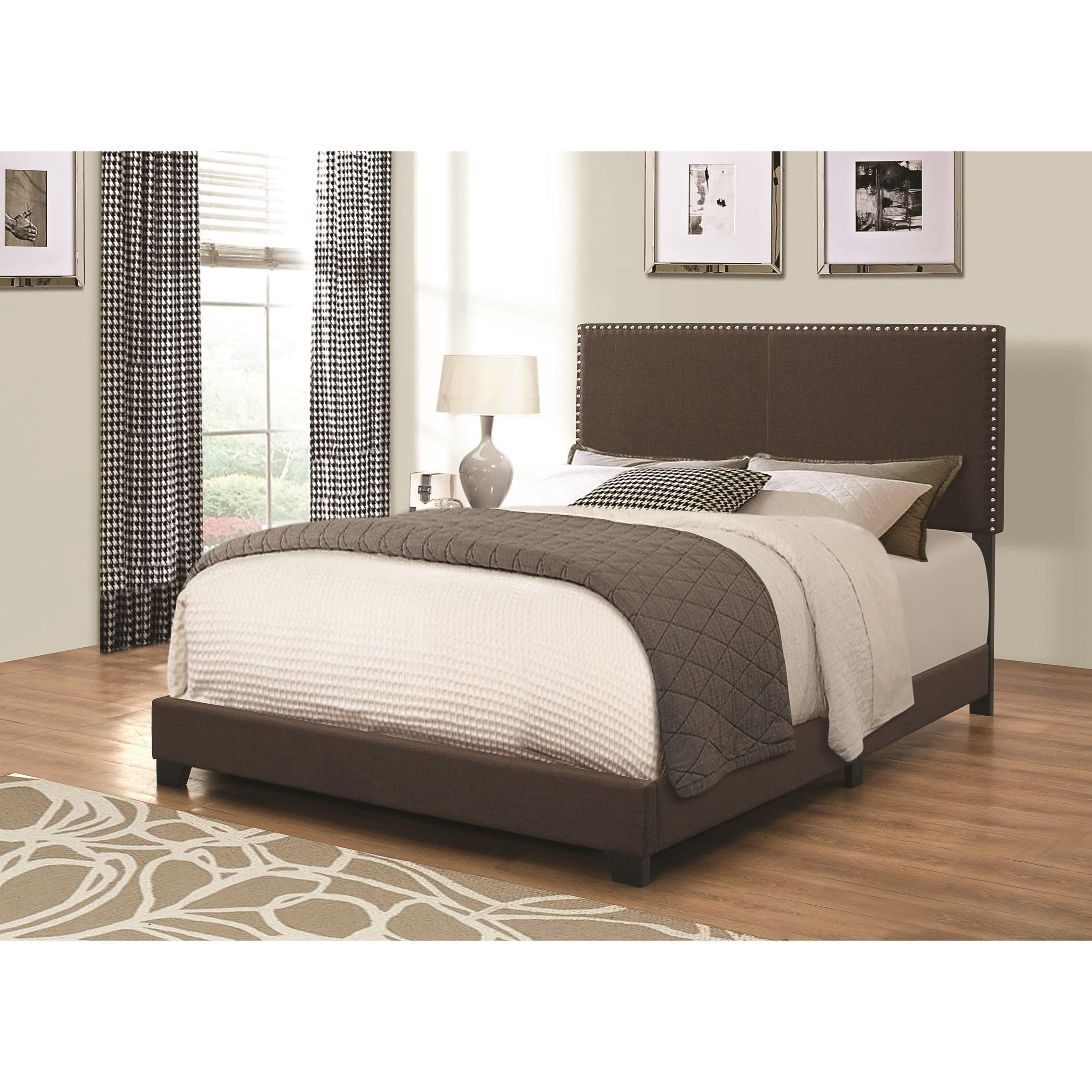 Coaster Upholstered Beds Queen Bed - Item Number: 350081Q