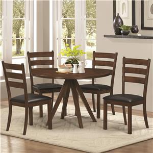Coaster Urbana 5 Piece Table & Chair Set