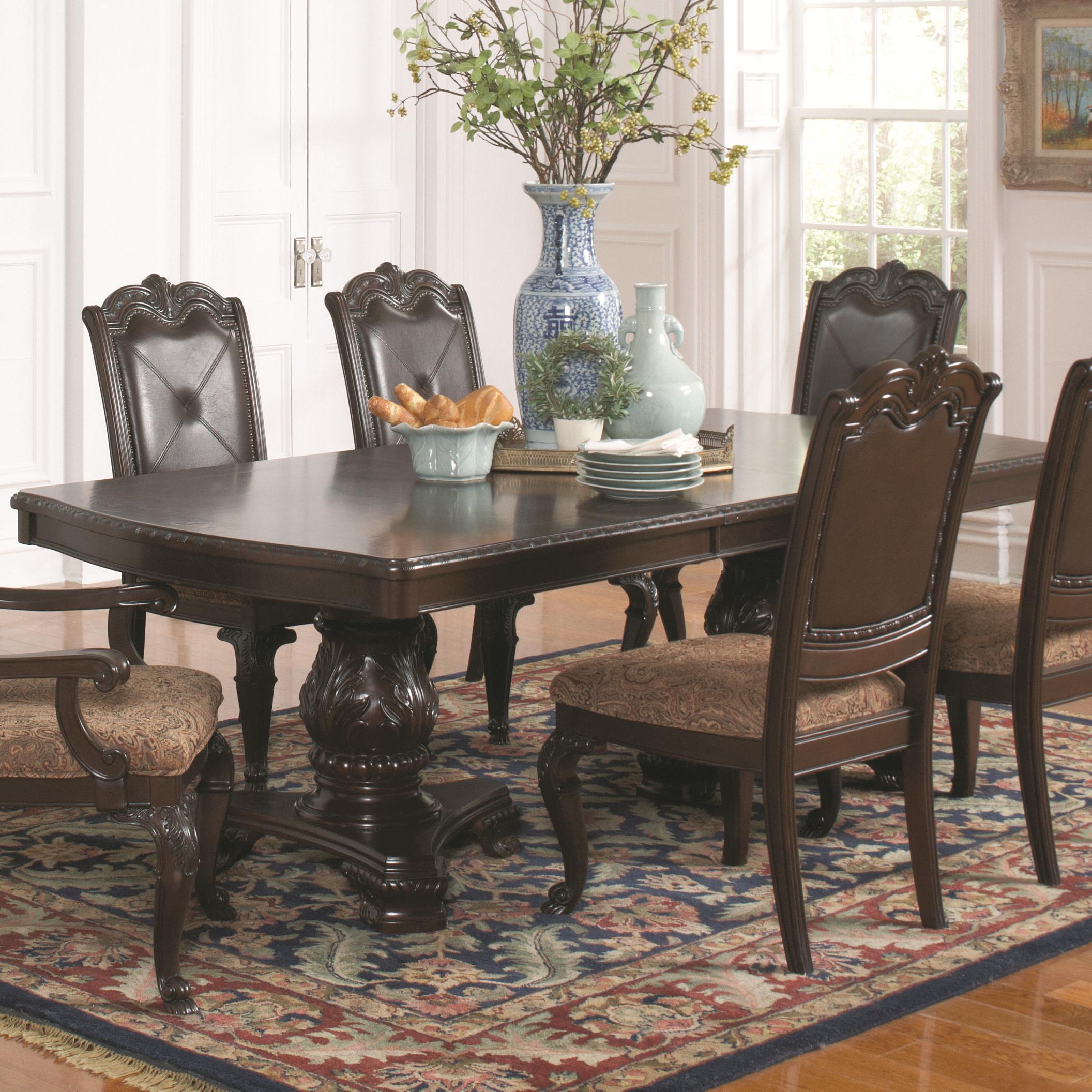 Coaster Valentina Rectangular Dining Table - Item Number: 105381