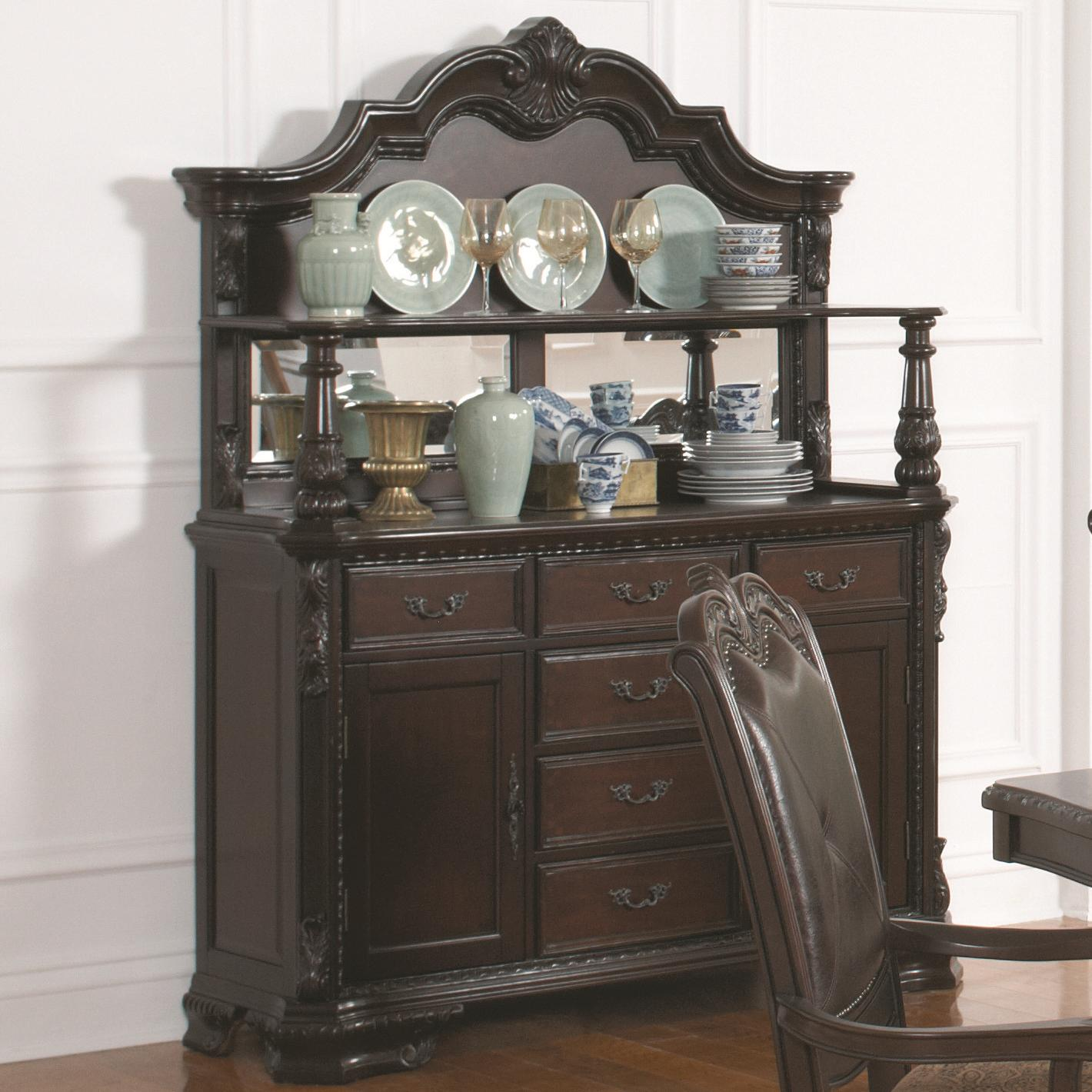Coaster Valentina Buffet and Hutch - Item Number: 105384