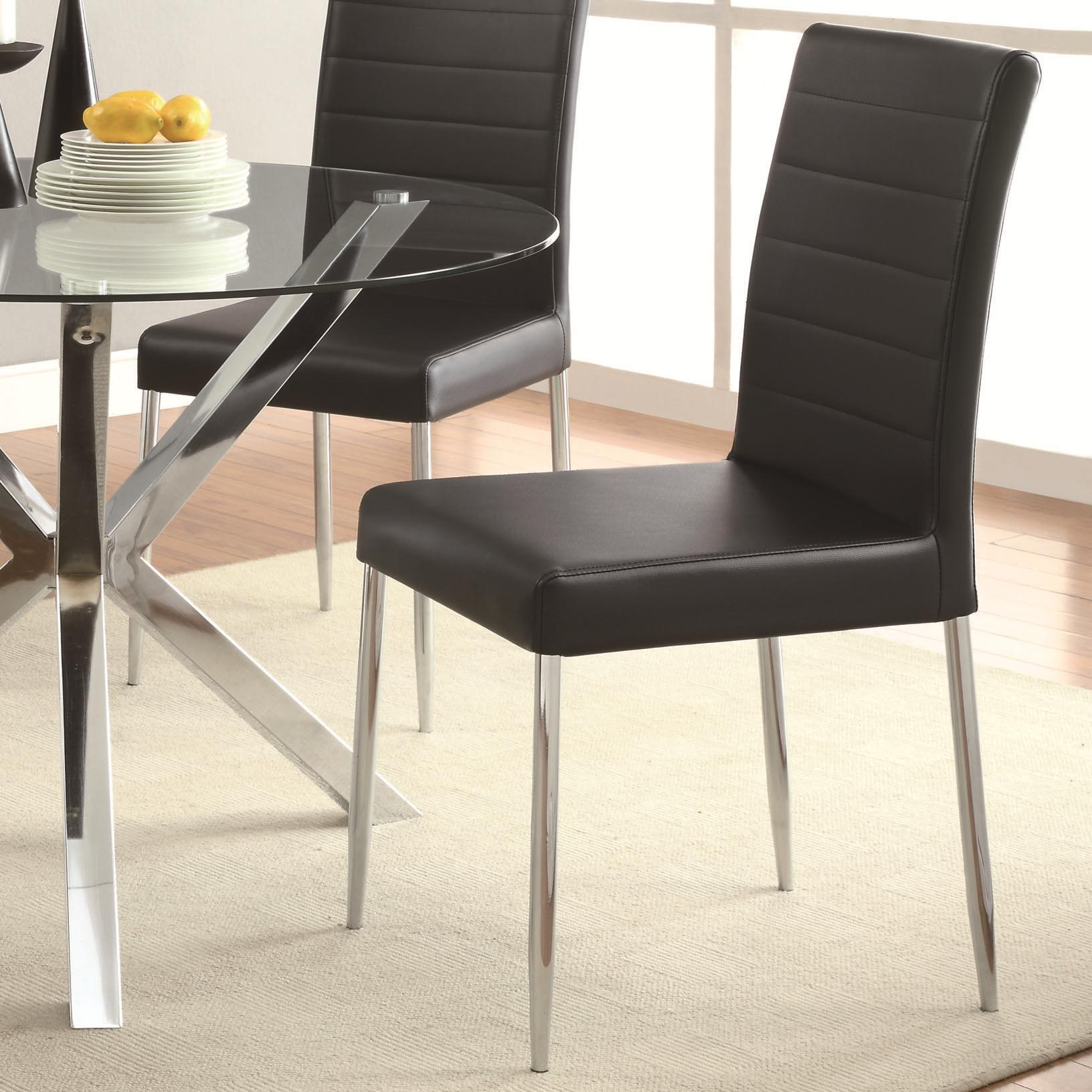 Coaster Vance Dining Chair - Item Number: 120767BLK