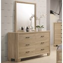 Coaster Vernon Dresser and Mirror Set - Item Number: 206353+4M