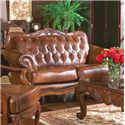 Coaster Victoria Love Seat - Item Number: 500682