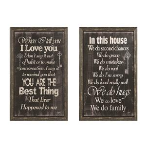 Coaster Wall Art Inspirational Wall Art