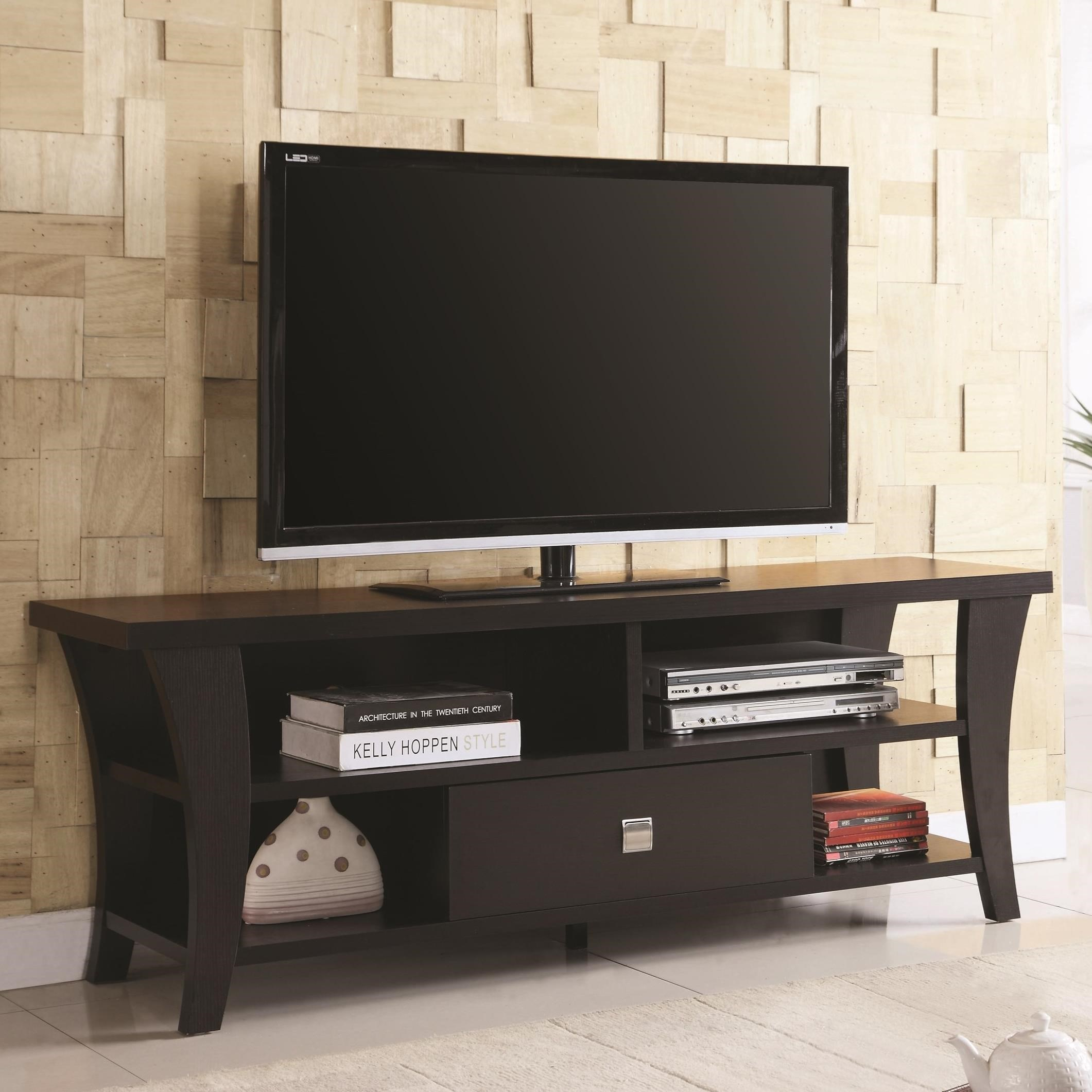 Coaster Entertainment Units Transitional Tv Console
