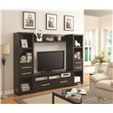 Coaster Entertainment Units TV Stand with 3 Shelves and 2 Doors - 703301 - Available as Part of a Complete Unit if Preferred