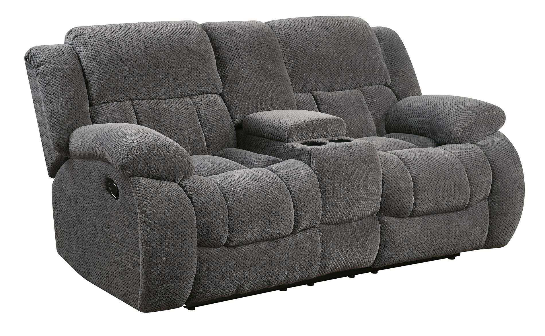 Coaster Weissman 601922 Motion Loveseat Northeast