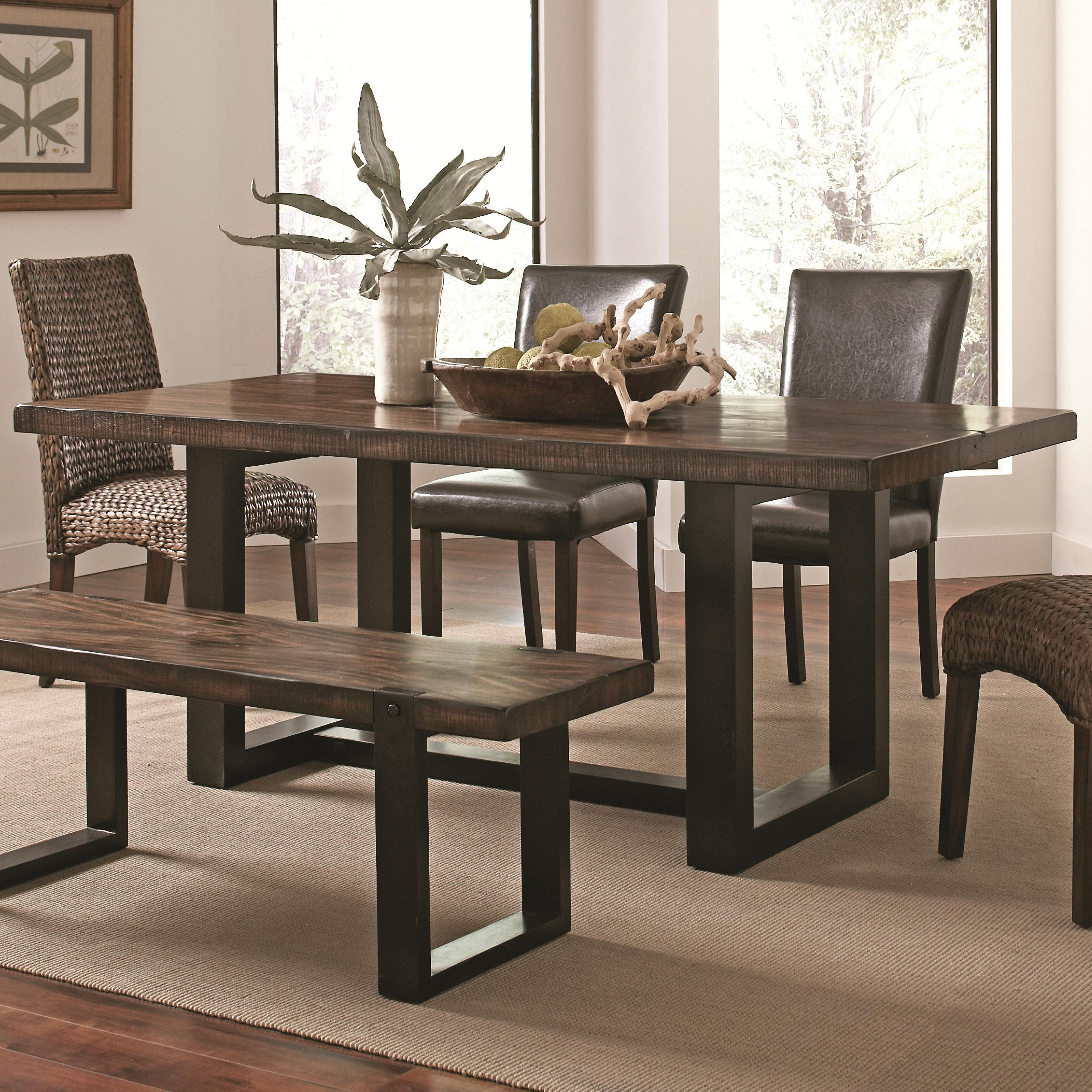 Coaster Westbrook Dining Casual Rustic Dining Table Del Sol