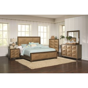 Coaster Wheatland Queen Bedroom Group