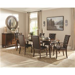 Coaster Williamsburg Formal Dining Room Group