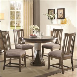 Coaster Willowbrook 5 Pc Dining Set