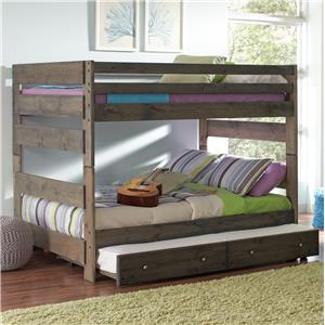 Coaster Wrangle Hill Bunk Bed with Trundle
