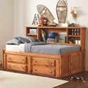 Coaster Wrangle Hill Twin Storage Daybed - Item Number: 460121T