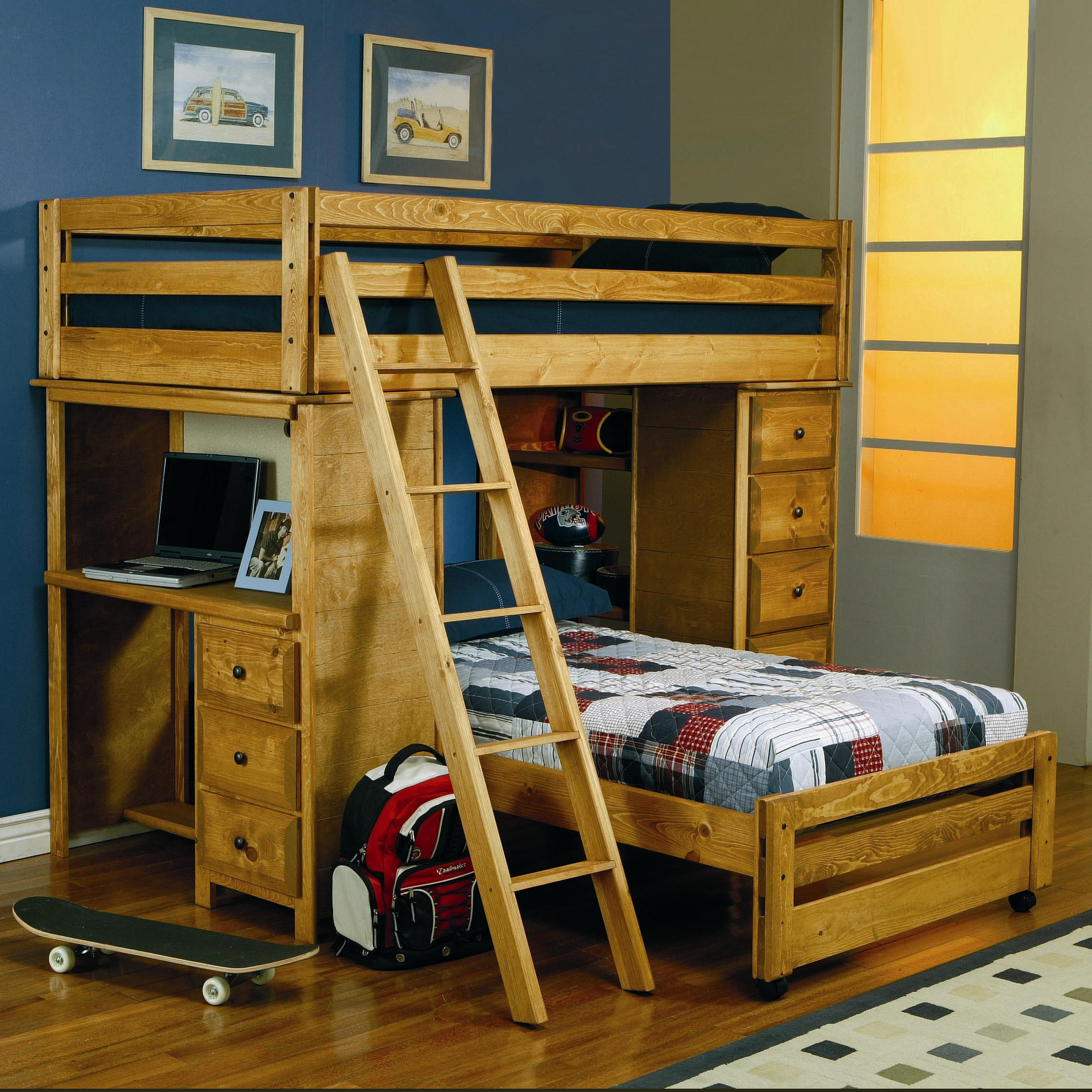 Coaster Wrangle Hill Twin Bunk Bed - Item Number: 460141