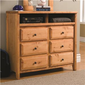 Coaster Wrangle Hill Media Dresser