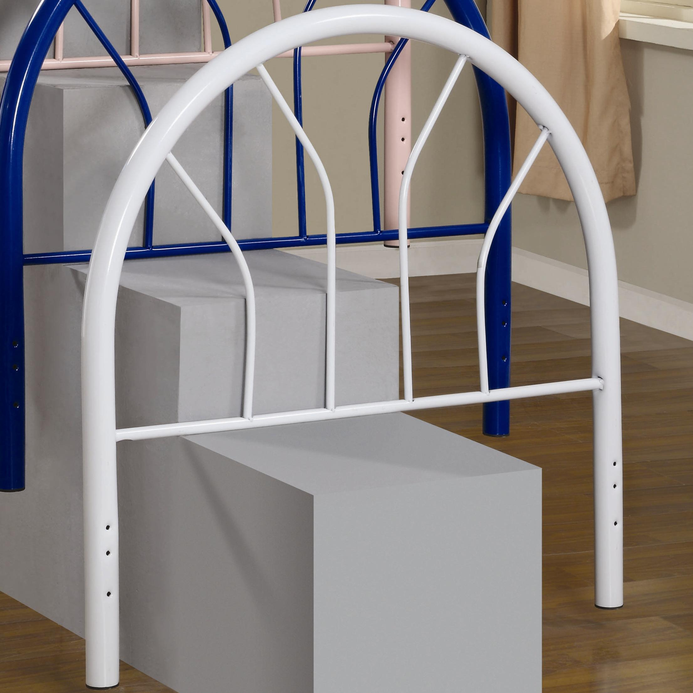 Coaster Youth Beds Twin White Metal Headboard - Item Number: 2366WT