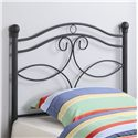 Coaster Youth Beds Twin Metal Headboard - Item Number: 450102T