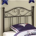 Coaster Youth Beds Twin Metal Headboard - Item Number: 450103T