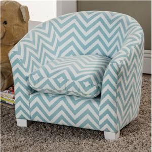 Coaster Youth Seating and Storage Kid's Chair