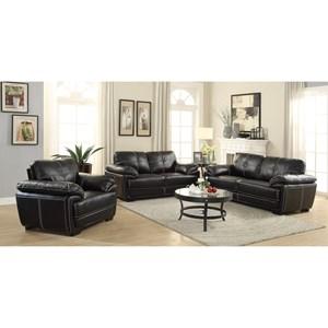 Coaster Zenon Stationary Living Room Group
