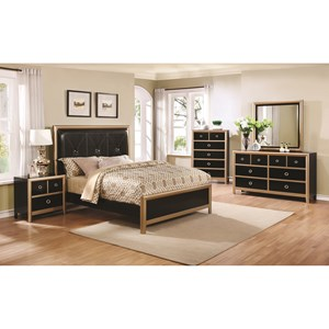 Coaster Zovatto Queen Bedroom Group