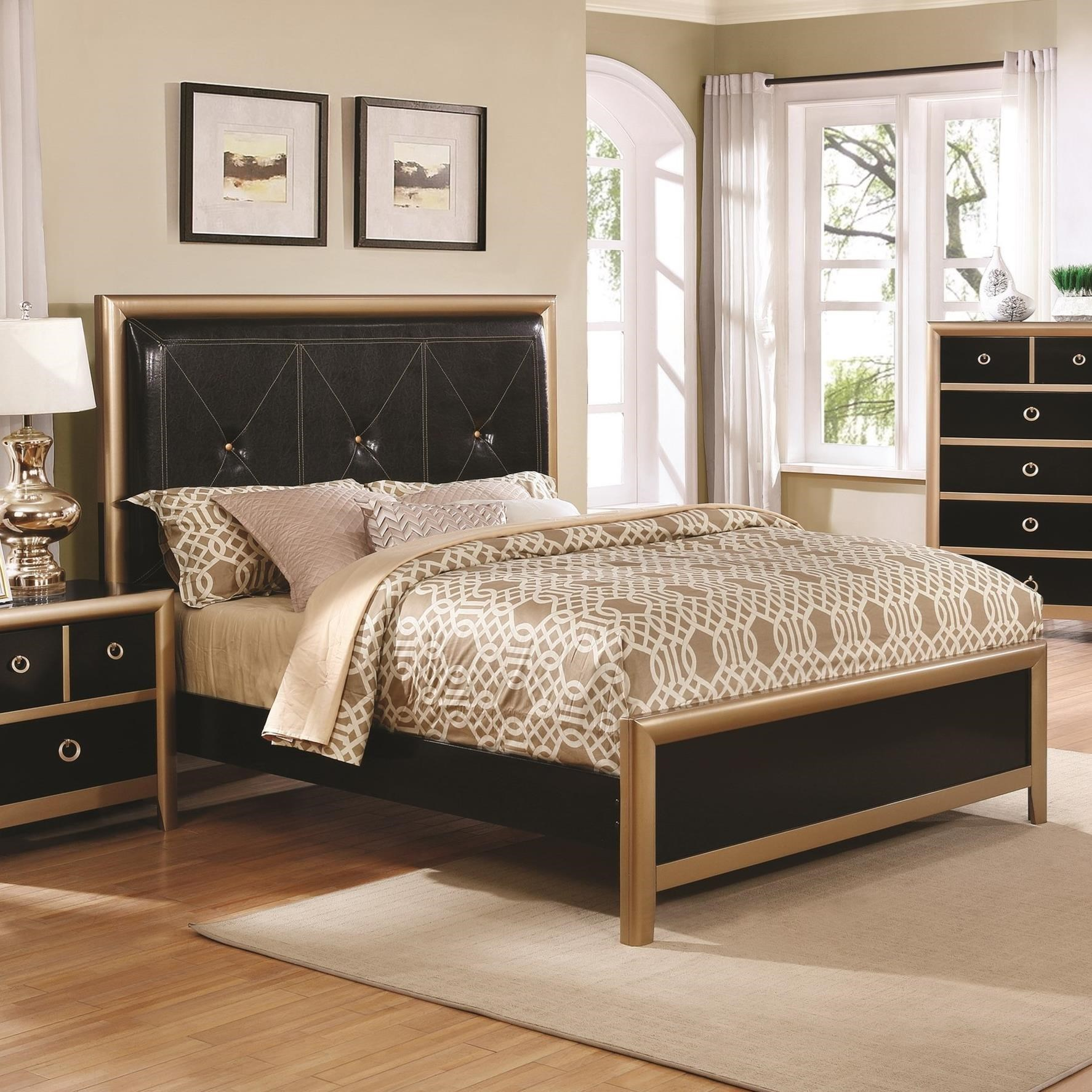 Coaster Zovatto King Bed - Item Number: 205341KE