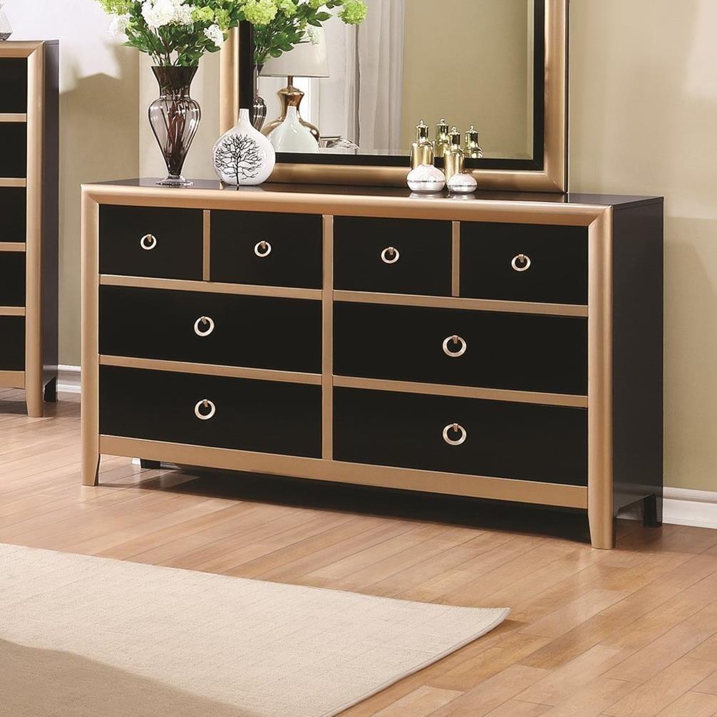 Coaster Zovatto Dresser - Item Number: 205343