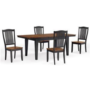Leg Table w/ 1 - 18