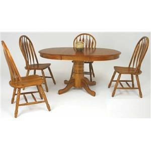 cochrane classic oak 42 round tabletables delphos lima van wert ottawa and celina tables store classic trestle dining room. beautiful ideas. Home Design Ideas