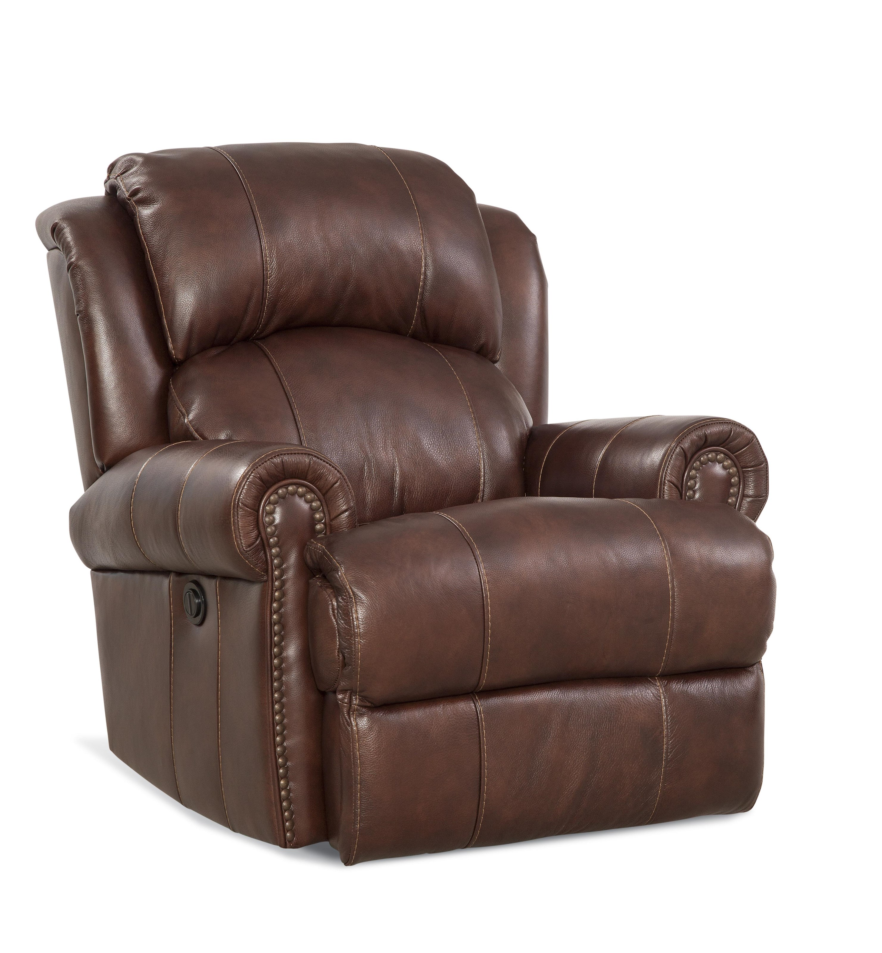 HomeStretch Jefferson Leather Rocker Recliner - Item Number: 164-91-21