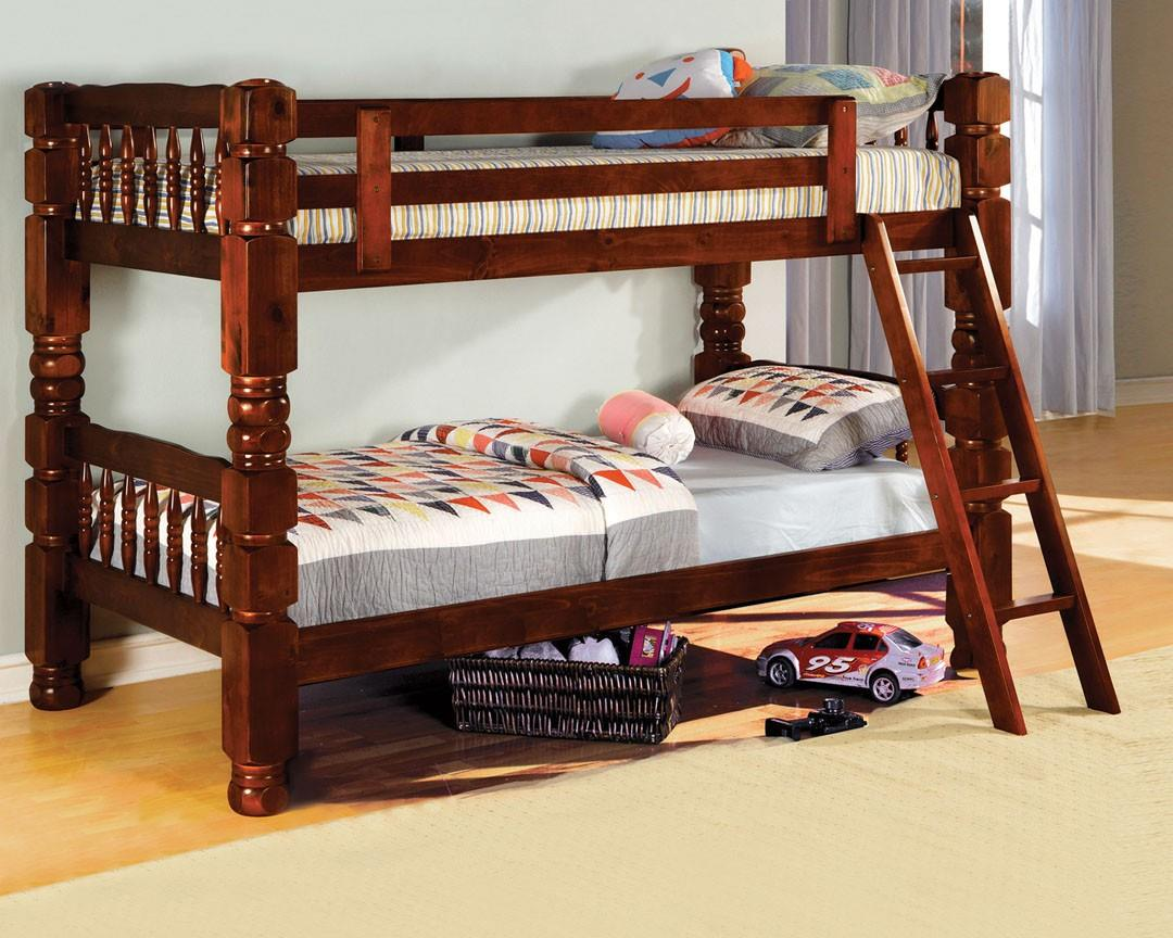 Furniture of America / Import Direct 2528 Bunkbed Bunk bed - Item Number: WMS1-8200