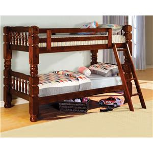Furniture of America / Import Direct 2528 Bunkbed Bunk bed