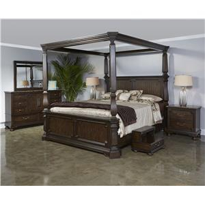 Najarian Vienna Queen Canopy Bed