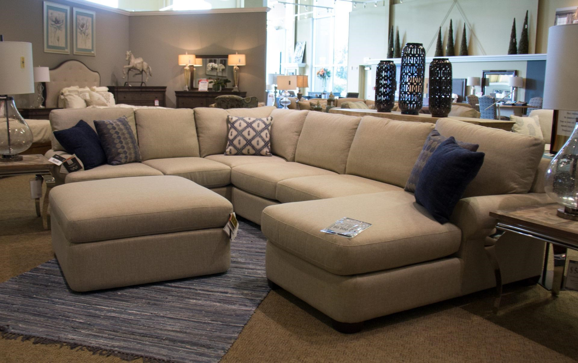 Bassett Monterey 3 Pc. Sectional Sofa - Item Number GRP-3901-SECTIONAL : basset sectional - Sectionals, Sofas & Couches