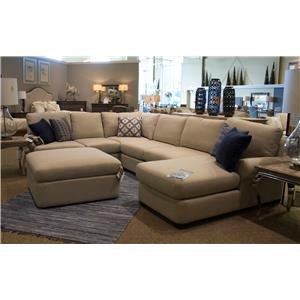 Bassett Monterey 3 Pc. Sectional Sofa  sc 1 st  Great American Home Store : bassett alex sectional - Sectionals, Sofas & Couches