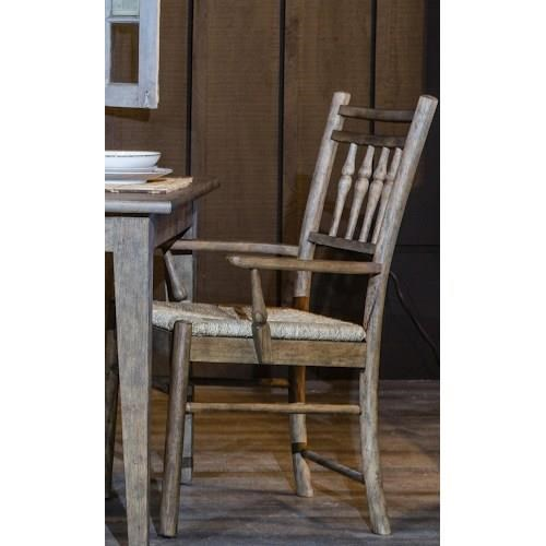 Klaussner River Bank Dining Dining Arm Chair - Item Number: 451-905D