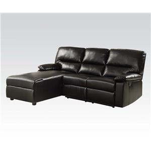 Acme Furniture 51555 Reclining Sofa w/ Chaise