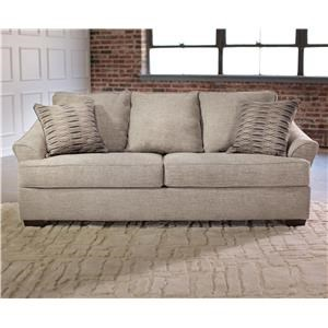 Simmons Upholstery 6520 Queen Sleeper Sofa