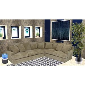 Reeds Trading Company 8000 3 Piece Sectional